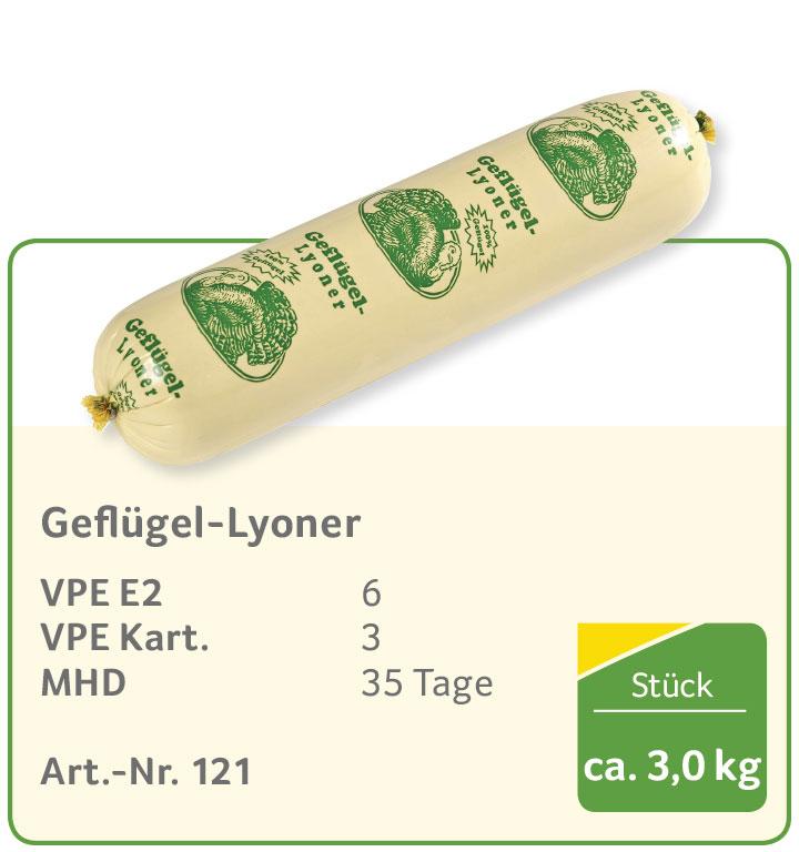 Geflügel-Lyoner